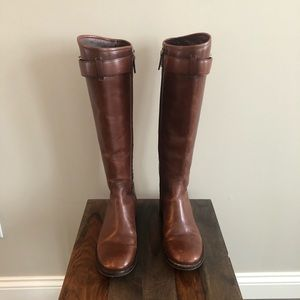 Tory Burch Brown Riding Boots - Size 8.5